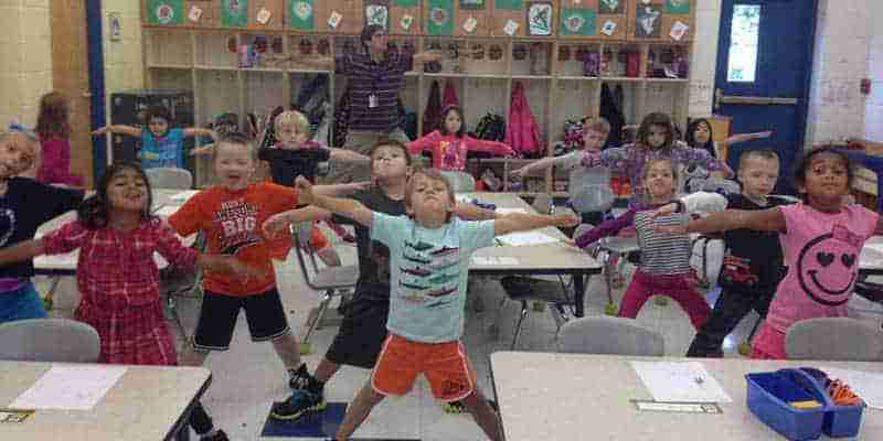 School Based Program, Yoga, Mindfulness, In Class Support